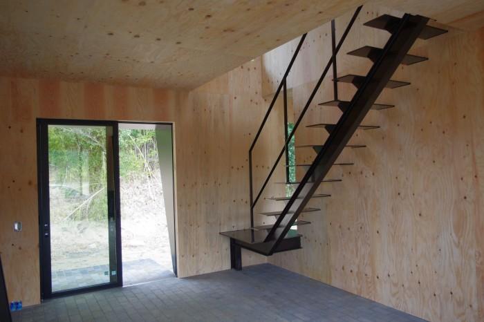 I邸:階段 手すり