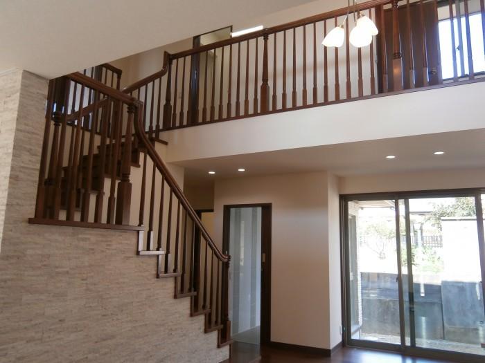 A邸:階段手すり
