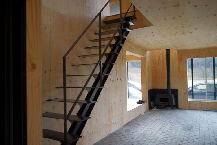 I邸:階段手すり02