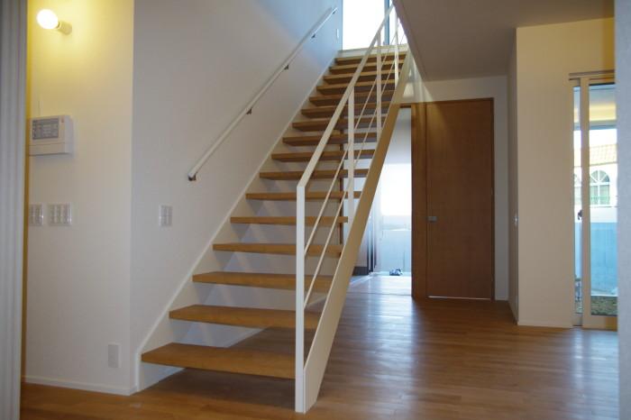 K邸:階段手すり