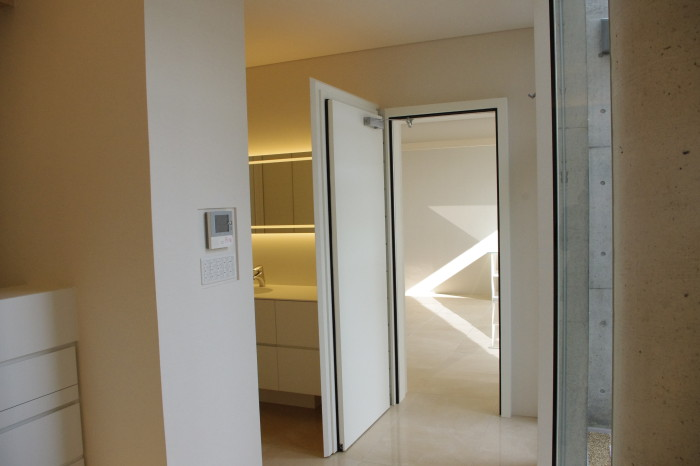 S邸:音楽室防音ドア