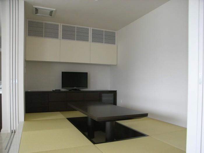 Y邸:和室 テレビボード