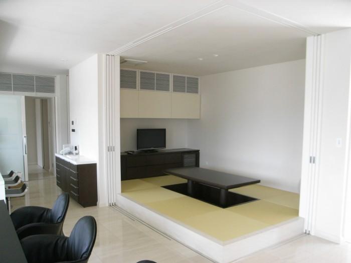 Y邸:和室 テレビボード18